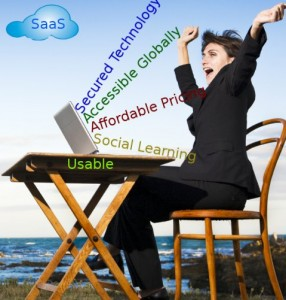 Saas Software is Secured, Usable, Intutive, User friendly, Collaboration
