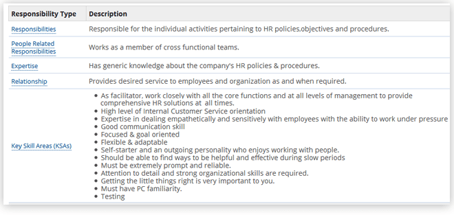 plan & Manage Workforce Responsibilities