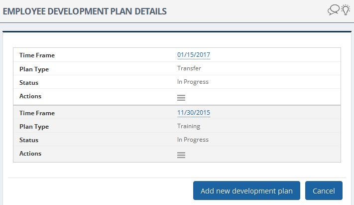 Employee Development Plan Succession Pipeline