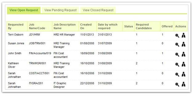recruitment tracking
