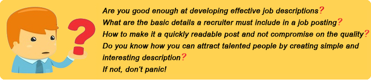 Quick Guide for Recruiters to Create Effective Job Descriptions – Recruiter Job Description