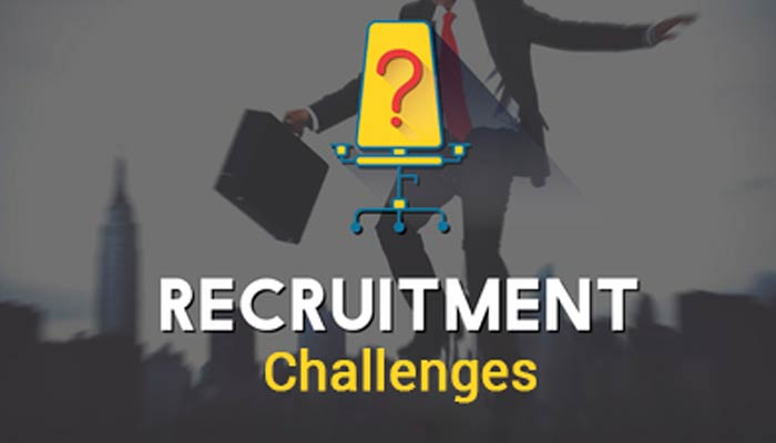 challenges in recruitment and selection of employees Hr professionals have more than one reason to explain this, but the problem doesn't end here, there are various other challenges that the industry is likely to face in the coming years.