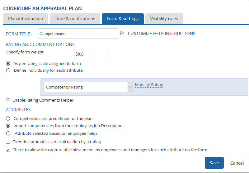 configure-an-appraisal-plan