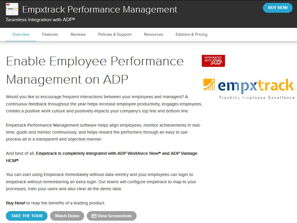 How to Purchase Empxtrack from ADP marketplace - Empxtrack