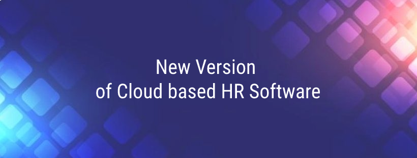 New version of cloud based HR software
